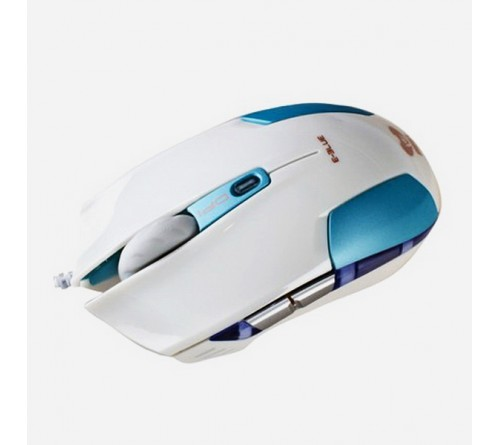 Мышь E-Blue  Cobra S                        (USB,2400dpi,Optical) Blue