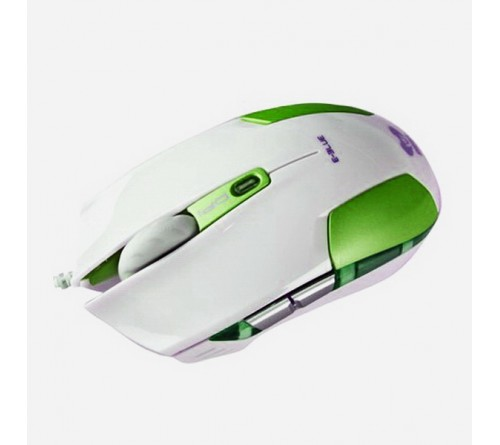 Мышь E-Blue  Cobra S                        (USB,2400dpi,Optical) Green