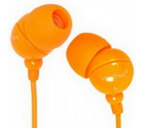 Наушники  SmartBuy SBE-1300 (Вакуумные)             (20) COLOR TREND  Orange