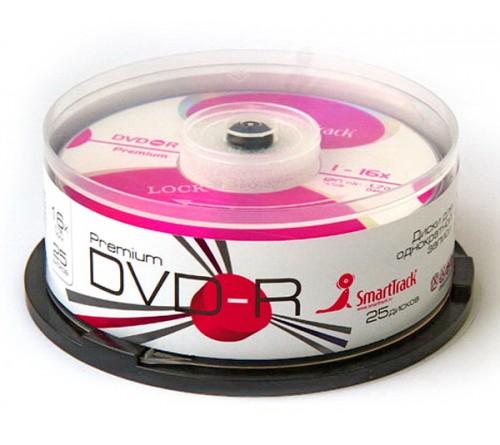 DVD-R        Smart TRACK  4.7 Gb 16x  (Cake   25)(600)