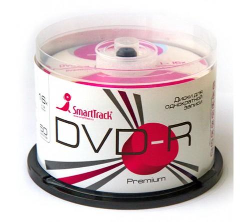 DVD-R        Smart TRACK  4.7 Gb 16x  (Cake   50)(600)