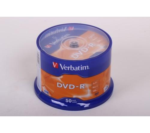 DVD-R        VERBATIM  4.7Gb 16x  (Cake   50)(200)