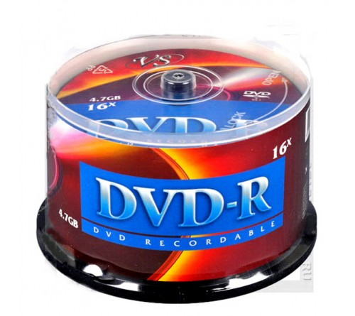 DVD-R        VS 4.7Gb 16x  (Саке    50)(250)