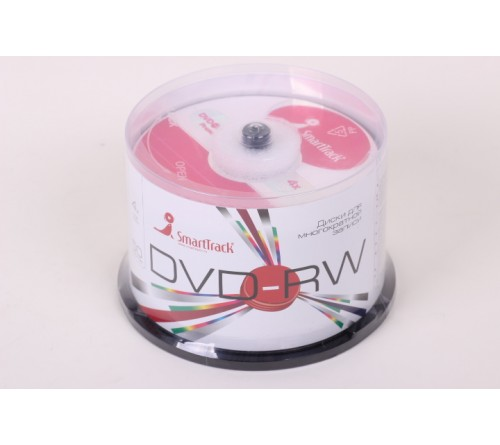 DVD-RW    Smart TRACK  4.7 Gb   4x  (Cake   50)(600)