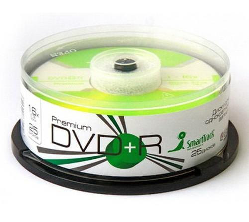 DVD+R       Smart TRACK  4.7 Gb 16x  (Cake   25)(600)