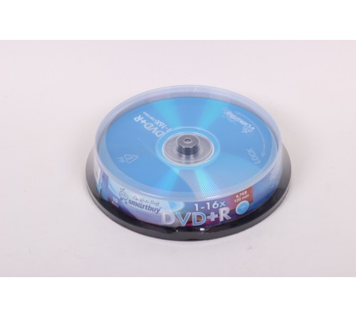 DVD+R       SmartBuy  4.7Gb 16x  (Cake   10)(200)