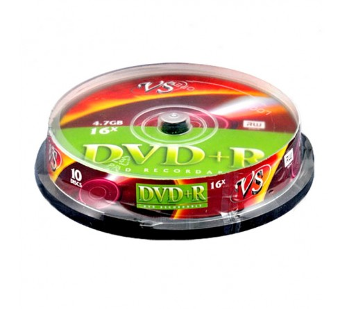 DVD+R       VS 4.7Gb 16x  (Саке    10)(200)