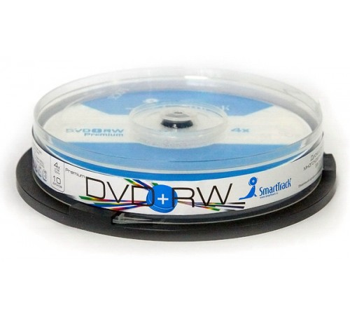DVD+RW   Smart TRACK  4.7 Gb   4x  (Cake   10)(600)