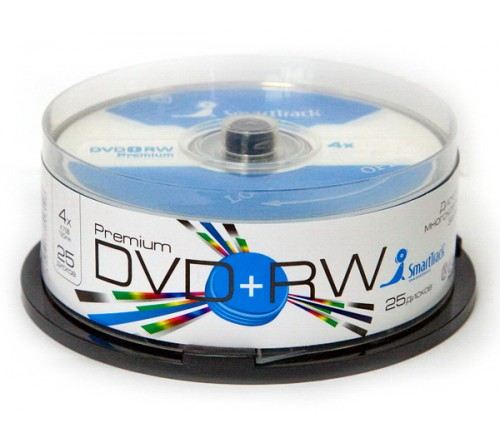 DVD+RW   Smart TRACK  4.7 Gb   4x  (Cake   25)(600)