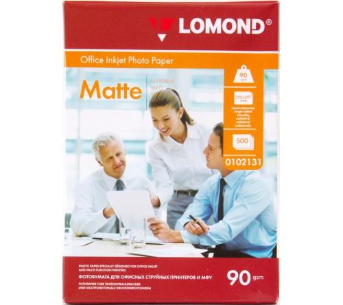 Фотобумага LOMOND  A4        90г/м2 Односторонняя Матовая                     500л  (  5)!