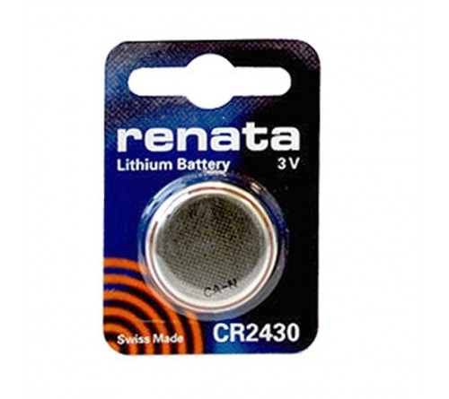 RENATA           CR2430  ( 1BL)( 10)(100)