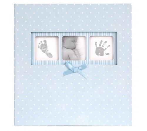 Innova Q4103613M Baby Polka Dot BLUE 200 ph 10x15/6x4 Memo (12/420) Детский
