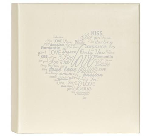 Innova Q8907128 Фотоальбом 200 ф. 10*15 Свадебный альбом - сердце, кармашки (6/270)  Memo