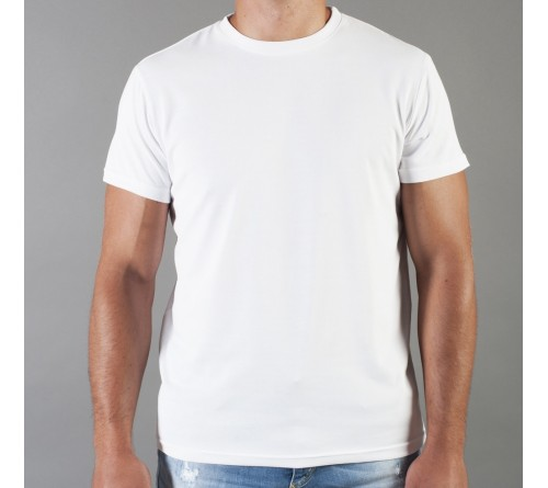 Футболка мужская Futbitex/Evolution, классика (58   (4XL), белый)