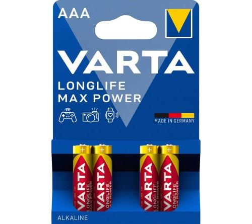 VARTA             LR03  Alkaline  (  4BL)(40)(200)  4703  Max-Tech