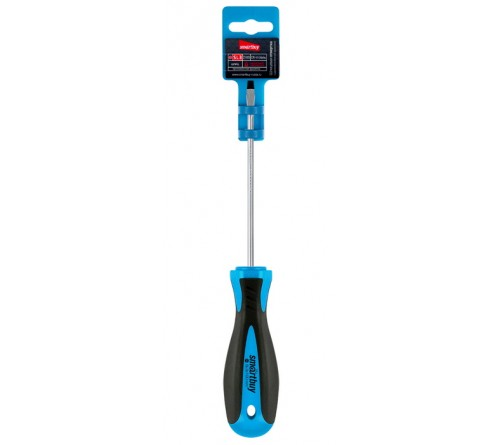 Отвертка Шлицевая  Smartbuy (SBT-SCS-SL3x100P1) эргономичная 2х-компонентная рукоятка, CR-V, магнит, Tools
