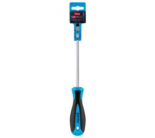 Отвертка Шлицевая  Smartbuy (SBT-SCS-SL6x150P1) эргономичная 2х-компонентная рукоятка, CR-V, магнит, Tools