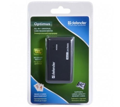 USB-картридер  DEFENDER  OPTIMUS