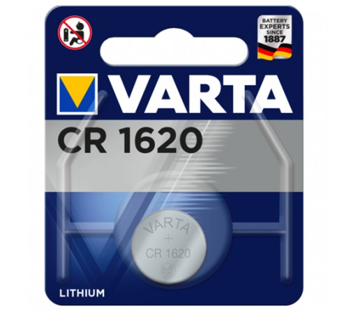 VARTA              CR1620  ( 1BL)( 10)(100) 6620