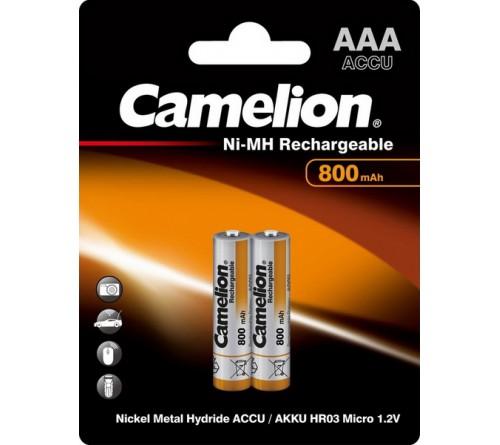 Аккум   CAMELION  R03   (  800mAh)(2BL)(24)