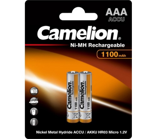Аккум   CAMELION  R03   (1100mAh)(2BL)(24)