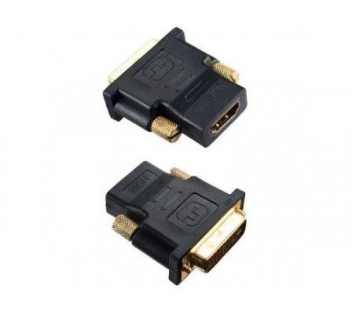 Кабель  Perfeo (A7004)  HDMI A розетка - DVI-D вилка адаптер в пакете ()