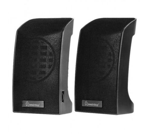 Колонки Smart Buy (SBA 1000)                2.0 (2*   3W)  Orca Band Пластик,USB.для Ноутбука