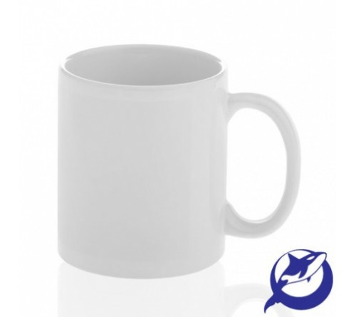 Кружка керамическая Белая 330 мл ПРЕМИУМ   (36) Дельфин-Орка