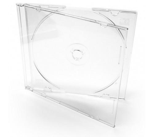 CD-BOX  1-CD    Прозрачный  SLIM  5мм    (400)