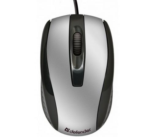 Мышь DEFENDER    140 Optimum     (USB,   800dpi,Optical) Silver