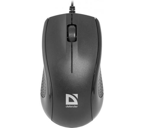 Мышь DEFENDER    160 Optimum     (USB,  1000dpi,Optical) Black