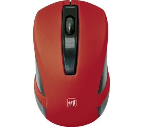 Мышь DEFENDER    605                   (Nano,1200dpi,Optical) Red Беспроводная