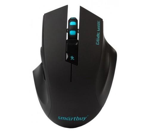 Мышь Smart Buy  706 AGG-K RUSH (Nano,1600dpi,Optical) Black,Игровая,Беспроводная