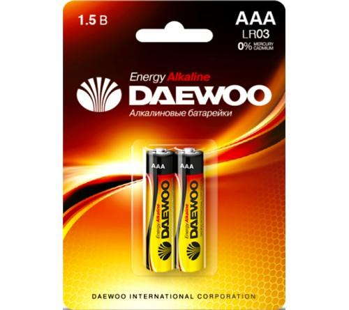 DAEWOO         LR03  Alkaline  (  2BL)(20)(480)