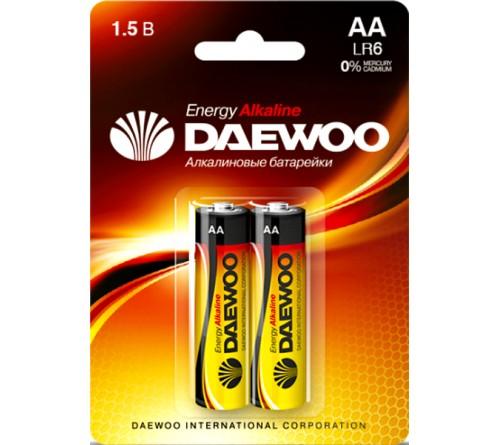 Батарейка DAEWOO         LR6  Alkaline  (  2BL)(20)(480)