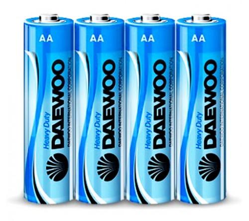 Батарейка DAEWOO         R6  (    4)(60)(960)