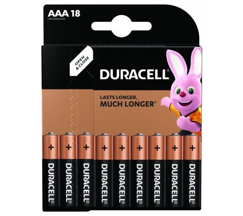 DURACELL      LR03  Alkaline  (  18BL)(180)  BASIC