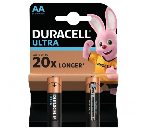 Батарейка DURACELL      LR6    Alkaline  (    2BL)(40)  ULTRA POWER