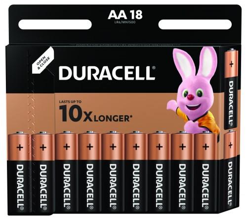 Батарейка DURACELL      LR6    Alkaline  (  18BL)(180)  BASIC