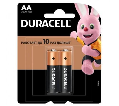 Батарейка DURACELL      LR6    Alkaline  (    2BL)(24/96)  BASIC CN