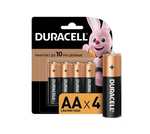 Батарейка DURACELL      LR6    Alkaline  (    4BL)(48/192)  BASIC CN