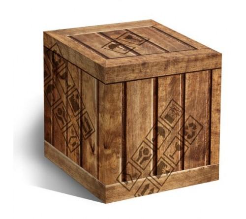 Подарочная коробка для кружки Деревянный ящик