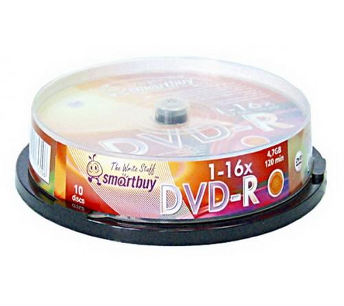DVD-R        SmartBuy  4.7Gb 16x  (Cake   10)(200)
