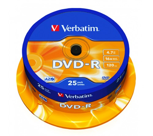 DVD-R        VERBATIM  4.7Gb 16x  (Cake   25)(200)
