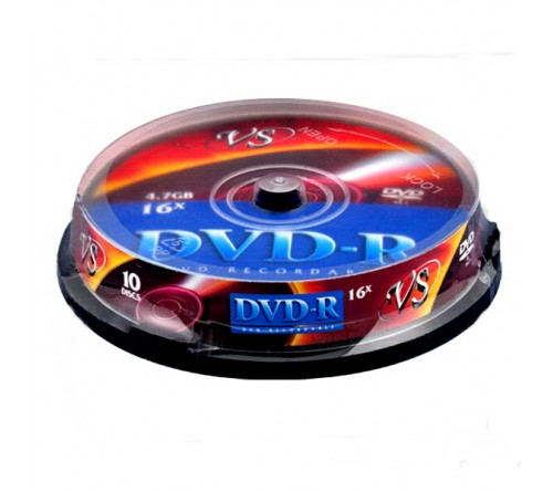 DVD-R        VS 4.7Gb 16x  (Саке    10)(200)