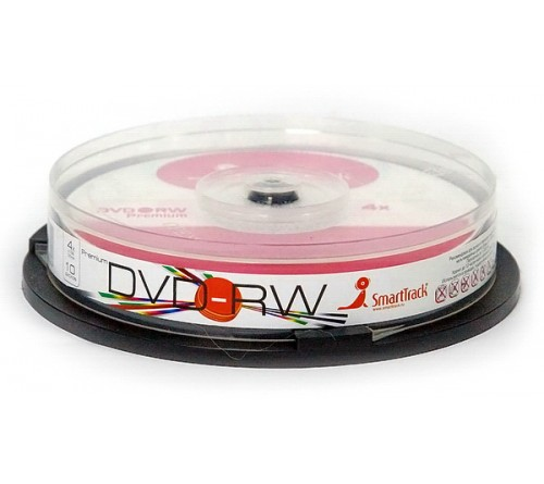 DVD-RW    Smart TRACK  4.7 Gb   4x  (Cake   10)(600)