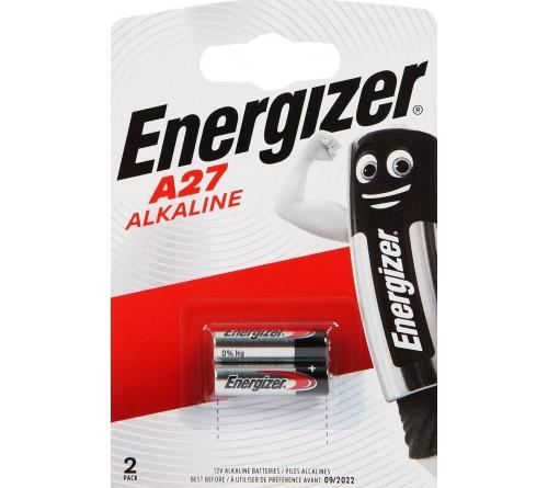 Батарейка Сигналка  ENERGIZER    A27     12V (  2BL)(20)(100)