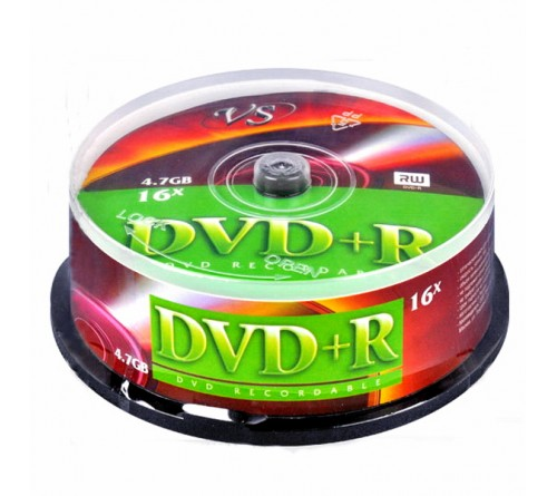 DVD+R       VS 4.7Gb 16x  (Саке    25)(250)