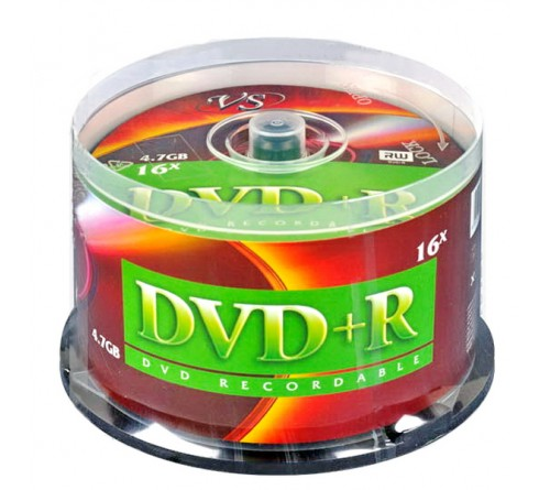 DVD+R       VS 4.7Gb 16x  (Саке    50)(250)