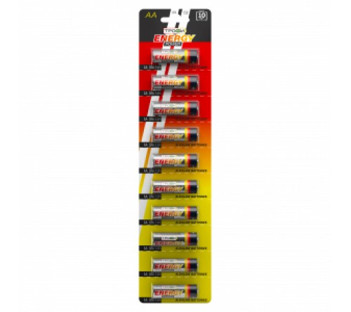 Батарейка ТРОФИ            LR03  Alkaline  (10BL)(1000) Strip Отрывной